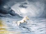 """""""Freudensprung""""  -  Acryl auf Leinwand 80 x 60 cm"""