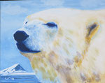 """Dominant"" - Acryl auf Leinwand - 60 x 50 cm"