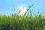 """Froschperspektive"" - Acryl auf Leinwand 60 x 40 cm - verkauft"