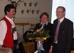 Unser neuer Vorsitzender Hans Haunerdinger  mit seinem Vorgänger Christoph Thanbichler