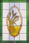 HPF-13 Fenstermotiv für ein Bauernhaus