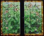 HPF-18 Fensterflügel mit Blumenmotiv