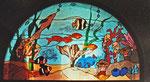 Wandmotiv hinterleuchtet mit Unterwasserlandschaft