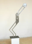 The Player - Aluminum - 6' High