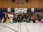 Die StarterInnen der Freestyle-Meisterschaft