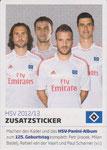 Zusatzsticker:Petr Jiracek,Milan Badelj,Rafael van der Vaart,Paul Scharner