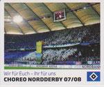 Nr 130 Choreo Nordderby 07/08