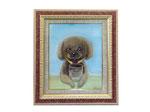 販売用の自由作品 お部屋に飾る犬の絵ということで描かせていただきました。F8サイズ