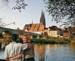Regensburg, Dom und Brücke
