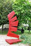 Vibrations acier galvanisé peint 2,20 m