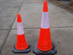New material made PE Traffic cone 50cm and 75cm