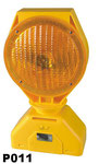 Solar Barricade Lamp No.P011S,  Yellow lens Flashing, Red lens Fixing, or OEM accepted.