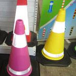 Colored EVA Cone