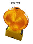 Solar Barricade Lamp No.P002S, Yellow lens Flashing, Red lens Fixing, or OEM accepted.