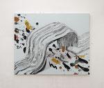 Dear greys, acrylic and oil on linen, 146x180cm