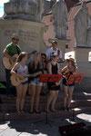 Bandausflug August 2014 - Leoben Straßenmusik