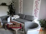 Wohnzimmer mit Schlafcouch 1,45x2,00