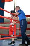 тренер-преподаватель ДЮСШ Градсков А.С. наставления перед боем