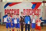 тренер-преподаватель ДЮСШ Градсков А.С. и его воспитанники