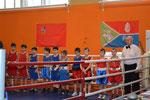 Парад участников турнира по боксу на Кубок Главы г.о. Лосино-Петровский