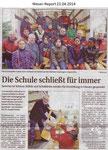 """""""Die Schule schließt für immer"""" Weser Report 23.04.2014"""