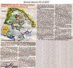 """Weltspielplatz für Wohlers Eichen """"Bremer Westen 20.12.2012"""""""