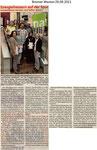 """Energiefressern auf der Spur """"Bremer Westen 29.09.2011"""""""