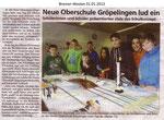 """Neue Oberschule Gröpelingen lud ein """"Bremer Westen 31.01.2013"""""""