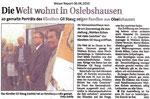 "Die Welt wohnt in Oslebshausen ""Weser Report 06.06.2010"""