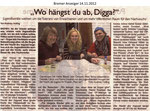 """Wo hängst du ab, Digga?"" ""Bremer Anzeiger 14.11.2012"""