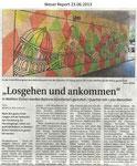 """""""Losgehen und ankommen"""" Weser Report 23.06.2013"""