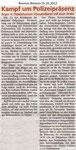 """Kampf um Polizeipräsenz """"Bremer Westen 25.10.2012"""""""