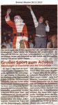 """""""Großer Sport zum Advent"""" Bremer Westen 28.11.2013"""