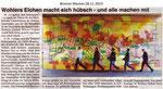 """""""Wohlers Eichen macht sich hübsch - und alle machen mit"""" Bremer Westen 28.11.2013"""
