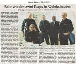 """Bald wieder zwei Kops in Oslebshausen """"Weser Report 08.02.2012"""""""