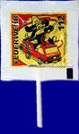 """Werbelolly """"Feuerwehr 112"""" / 3c (gelb, rot, schwarz)"""