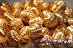 Goldnüsse mit Schokofüllung