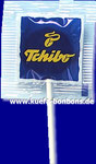 4 colour (blue, yellow, white, black) print promotion lollipop