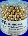 Golden Nuts with Choco Filling, 1,5 kg