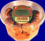 Crunchy Coins, nougat creme filled, 200 g