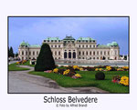 Wien Schloß Belvedere
