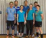 """Und die drei Teams des Gastgebers: Team """"simme samma Passau"""" ..."""