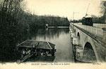 Orléans-T-037 : le pont sur le Loiret à Olivet