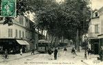 Fontainebleau-T-015 : Avon. Avenue du Chemin de Fer.