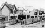 Le Conquet-005 : A l'origine, le départ des tramways du Conquet se faisait à Saint-Pierre-Quilbignon, une correspondance avec les tramways urbains étant nécessaire pour rejoindre le centre de Brest.
