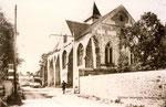 Fontainebleau-T-080 : Samois-sur-Seine, église.