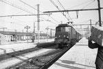 Les Aubrais. 1er octobre 1959. Locomotive 2D2 n°5535. Train express 1001 Paris - Montluçon - Ussel. Cliché Jacques Bazin
