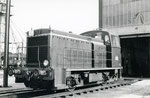 Les Aubrais. 1er septembre 1957. Locotracteur Y 9118. Cliché Gilbert Moreau. Collection Xavier Inguenaud