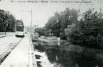 Orléans-T-038 : le pont sur le Loiret à Olivet