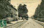 Besançon-009 : Dans le faubourg Saint-Claude, sur la route de Vesoul